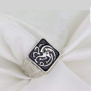 Jewelry - Game of Thrones Cosplay Targaryen Silver Ring